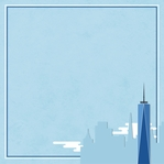 New York: One World Trade Center 12 x 12 Paper