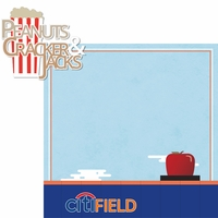 New York: Peanuts & Cracker Jacks 2 Piece Laser Die Cut Kit