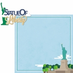 New York: Statue Of Liberty 2 Piece Laser Die Cut Kit