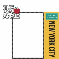 New York: The Big Apple 2 Piece Laser Die Cut Kit