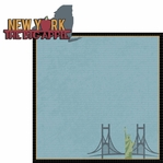 New York Travels: NY Big Apple 2 Piece Laser Die Cut Kit