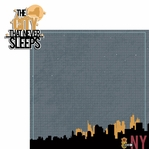 New York Travels: NY City Never Sleeps 2 Piece Laser Die Cut Kit