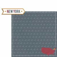 New York Travels: NY Label 2 Piece Laser Die Cut Kit