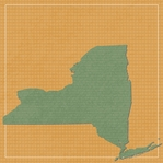 New York Travels: NY State 12 x 12 Paper