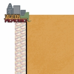 New York Travels: NY Vacation Memories 2 Piece Laser Die Cut Kit
