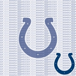 NFL Fanatic: Indianapolis Colts 12 x 12 Paper