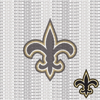NFL Fanatic: New Orleans Saints 12 x 12 Paper