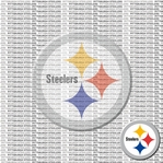 NFL Fanatic: Pittsburgh Steelers 12 x 12 Paper