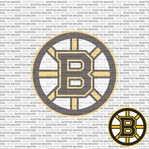 NHL Fanatic: Boston Bruins 12 x 12 Paper