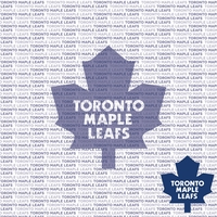 NHL Fanatic: Toronto Maple Leafs 12 x 12 Paper