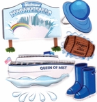Niagara Falls Jolee's Boutique Dimensional Stickers