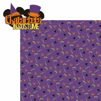 Not So Scary: Characters In Costume 2 Piece Laser Die Cut Kit