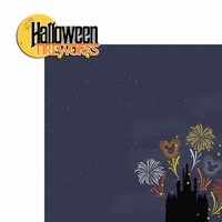 Not So Scary: Fireworks 2 Piece Laser Die Cut Kit