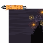 Not So Scary Halloween: Hallowishes 2 Piece Laser Die Cut Kit