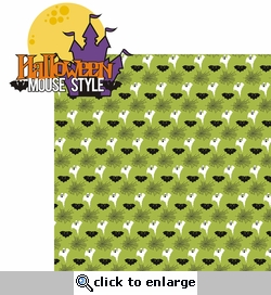 Not So Scary: Halloween Mouse Style 2 Piece Laser Die Cut Kit