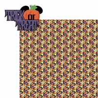 Not So Scary Halloween: Trick or Treat 2 Piece Laser Die Cut Kit