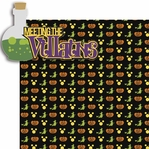 Not So Scary: Meeting The Villains 2 Piece Laser Die Cut Kit