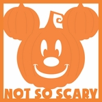 Not So Scary Pumpkin 12 x 12 Overlay Laser Die Cut