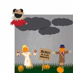 Not So Scary: Scarecrows 2 Piece Laser Die Cut Kit