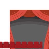 Now Playing: Theater Seats 2 Piece Laser Die Cut Kit