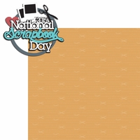 NSD: National Scrapbook Day 2015 2 Piece Laser Die Cut Kit