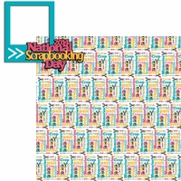 NSD: National Scrapbooking Day 2014 2 Piece Laser Die Cut Kit