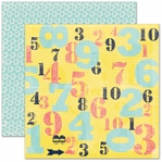 Numbers 12 x 12 Double-Sided Paper