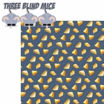 Nursery Rhymes: Three Blind Mice 2 Piece Laser Die Cut Kit