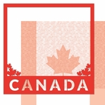 O Canada!: Canada 12 x 12 Overlay Quick Page Laser Die Cut Kit