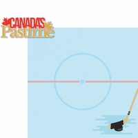 O Canada!: Canada's Pastime 2 Piece Laser Die Cut Kit