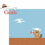 O Canada!: Going To Canada 2 Piece Laser Die Cut Kit
