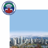 O Canada: Vancouver 2 Piece Laser Die Cut Kit
