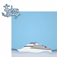 Ocean Bliss: Anchors Aweigh 2 Piece Laser Die Cut Kit