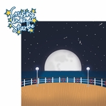 Ocean Bliss: Cruising Under The Stars 2 Piece Laser Die Cut Kit