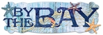 Oceana: By The Bay 8 x 3 Rhinestone Layered Title Sticker#