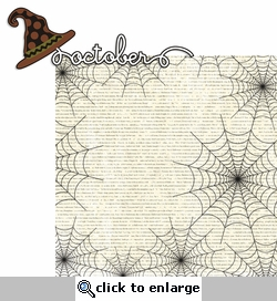 October Thirty First: October 2 Piece Laser Die Cut Kit