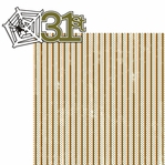 October Thirty First: Thirty First 2 Piece Laser Die Cut Kit