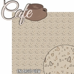 Oh La La: Caf� 2 Piece Laser Die Cut Kit