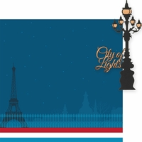 Oh La La: City Of Lights 2 Piece Laser Die Cut Kit