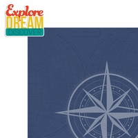 On The Go: Explore Dream Discover 2 Piece Laser Die Cut Kit