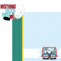 On The Ice: Nothing Past Me 2 Piece Laser Die Cut Kit