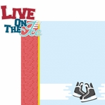 On The Ice: On The Ice 2 Piece Laser Die Cut Kit