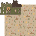 On The Trail: Take A Hike 2 Piece Laser Die Cut Kit