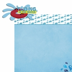On The Water: Tubing 2 Piece Laser Die Cut Kit