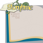 Once Upon A Time: Storytime 2 Piece Laser Die Cut Kit