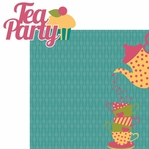 One Lump� Or Two?: Tea Party 2 Piece Laser Die Cut Kit