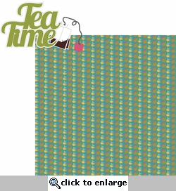 One Lump� Or Two?: Tea Time 2 Piece Laser Die Cut Kit