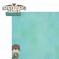 Otter: Otterly Lost 2 Piece Laser Die Cut Kit