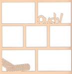Ouch! 12 x 12 Overlay Laser Die Cut