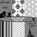 Our Fairy Tale 6 Piece Paper Kit